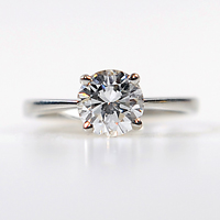 Solitaire Diamond Set Ring